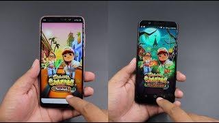 Xiaomi Redmi Note 6 Pro vs Asus Zenfone Max Pro M1 Speed Test Comparison | Hindi