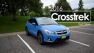 2016 Subaru Crosstrek Driving Review Video | First Drive | Road Test