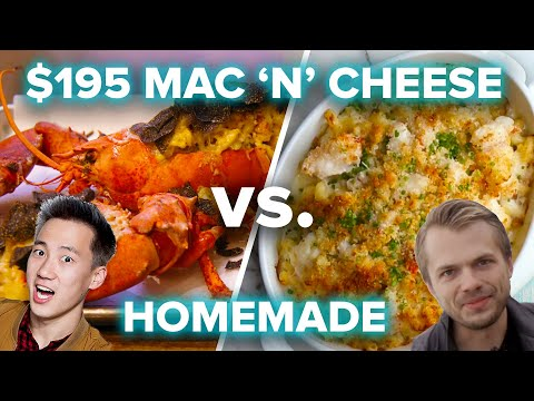 Download Youtube: $195 Mac 'N' Cheese vs. Homemade