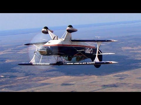 Because I was INVERTED! Spin training: Pitts S-2B Flight VLOG