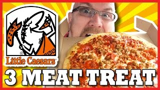Little Caesars Hot N Ready 3 Meat Treat, Pepperoni, Sausage and Bacon