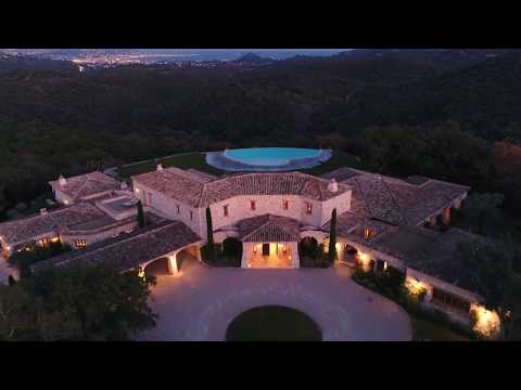 For sale and to rent : Domaine de Provence in the hinterland of Cannes - panoramic sea views