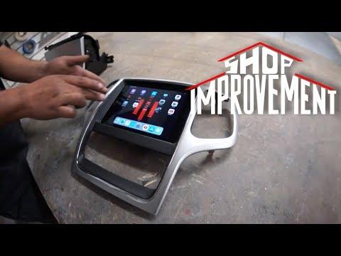 iPad mini 5 JEEP DASH! - Shop Improvement #6