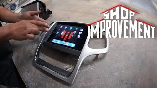 iPad mini 5 JEEP DASH! - Shop Improvement #6