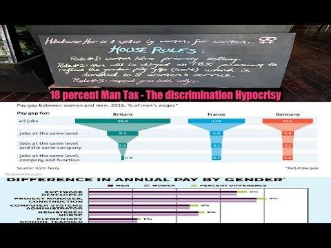 18 percent Man Tax - The discrimination Hypocrisy