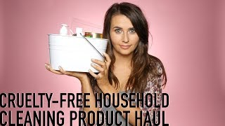 Cruelty-Free Household Cleaning Products Haul (& Vegan!) - Logical Harmony