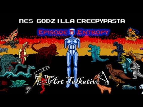 สยองขวัญ Godzilla NES Godzilla ตอนที่ 5:  Entropy Part 1 Art Talkative