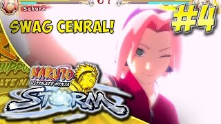 "{Road To Storm 4} Naruto: Ultimate Ninja Storm Playthrough Part 4 ""Did Someone Say Chanaroooo?"""