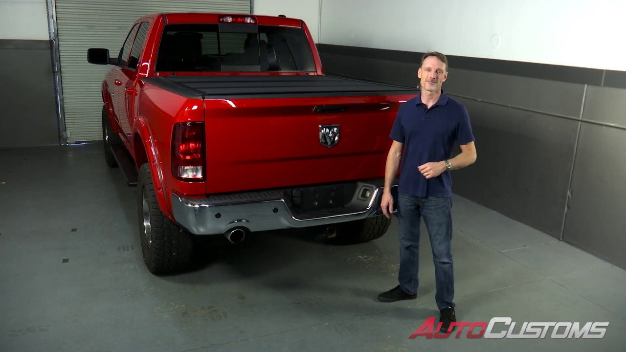 How To Install Bakflip Mx4 Tonneau Cover On A Ram 1500 Youtube