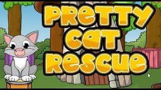 PRETTY CAT RESCUE GAME WALKTHROUGH