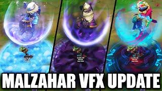 All Malzahar Skins VFX Update 2020 (League of Legends)