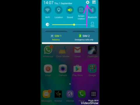 Samsung Galaxy A5  Reliance Jio 4G VoLTE Settings