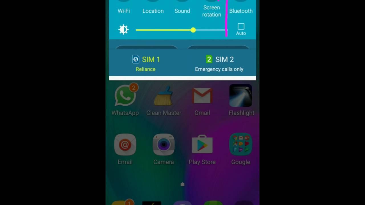 Samsung Galaxy A5 Reliance Jio 4G VoLTE Settings