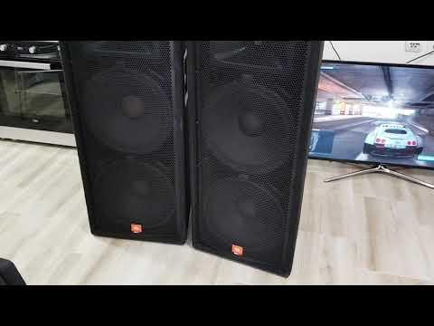 JBL JRX 125 2x1000W & Behringer EP 1500