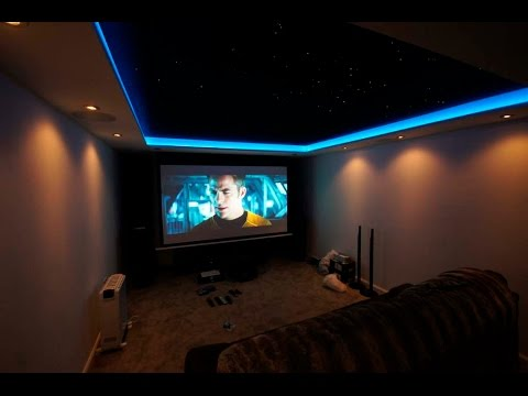 timelapse home cinema room transformation youtube. Black Bedroom Furniture Sets. Home Design Ideas