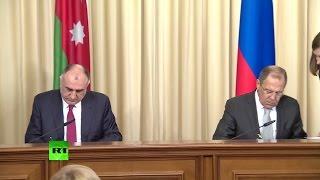 Пресс конференция Лаврова и главы МИД Азербайджана по итогам встречи