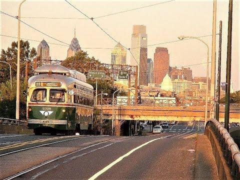 Philadelphia Route 15 Trolley Scenes -- 2010