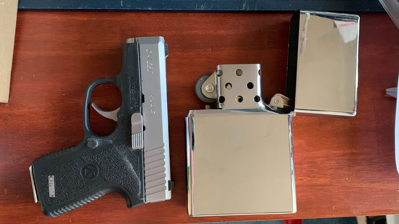 Review of kahr CW380. Is it the best all around pocket pistol?