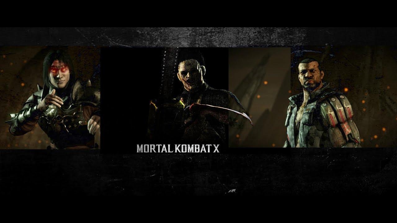 MK10 Мортал комбат XL 10 Живые Башни Люкан Кожанное Лицо ...