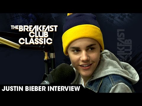 Justin Bieber Raps Tupac + More - Breakfast Club Classic 2011 Interview