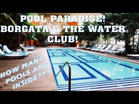 The Ultimate POOL Paradise at Borgata Atlantic City Vlog!Buffet and Room Tour (2018)