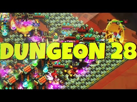 The FORGOTTEN TRIAL | DUNGEON 28 | CASTLE CLASH