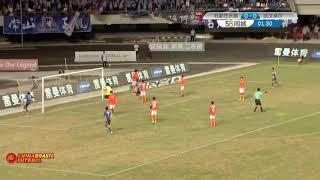 Gol Jacob Mulenga - Shijiazhuang Ever Bright x Wuhan Zall - Liga Um Chinesa 2017