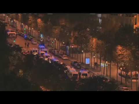 Paris Terror shooting kills 2 officers 20/4/17