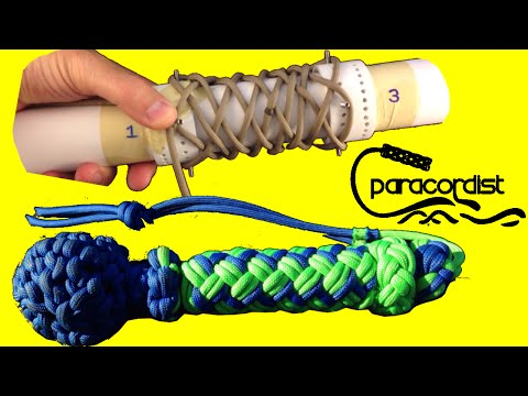 Paracordist How to Tie the Long Turks Head Knot - for DUMMIE
