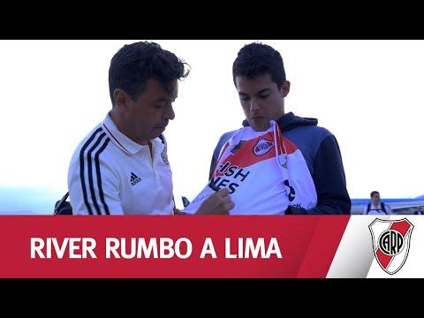¡DE NÚÑEZ A LIMA! Mirá el viaje del plantel rumbo a Perú donde jugará la final
