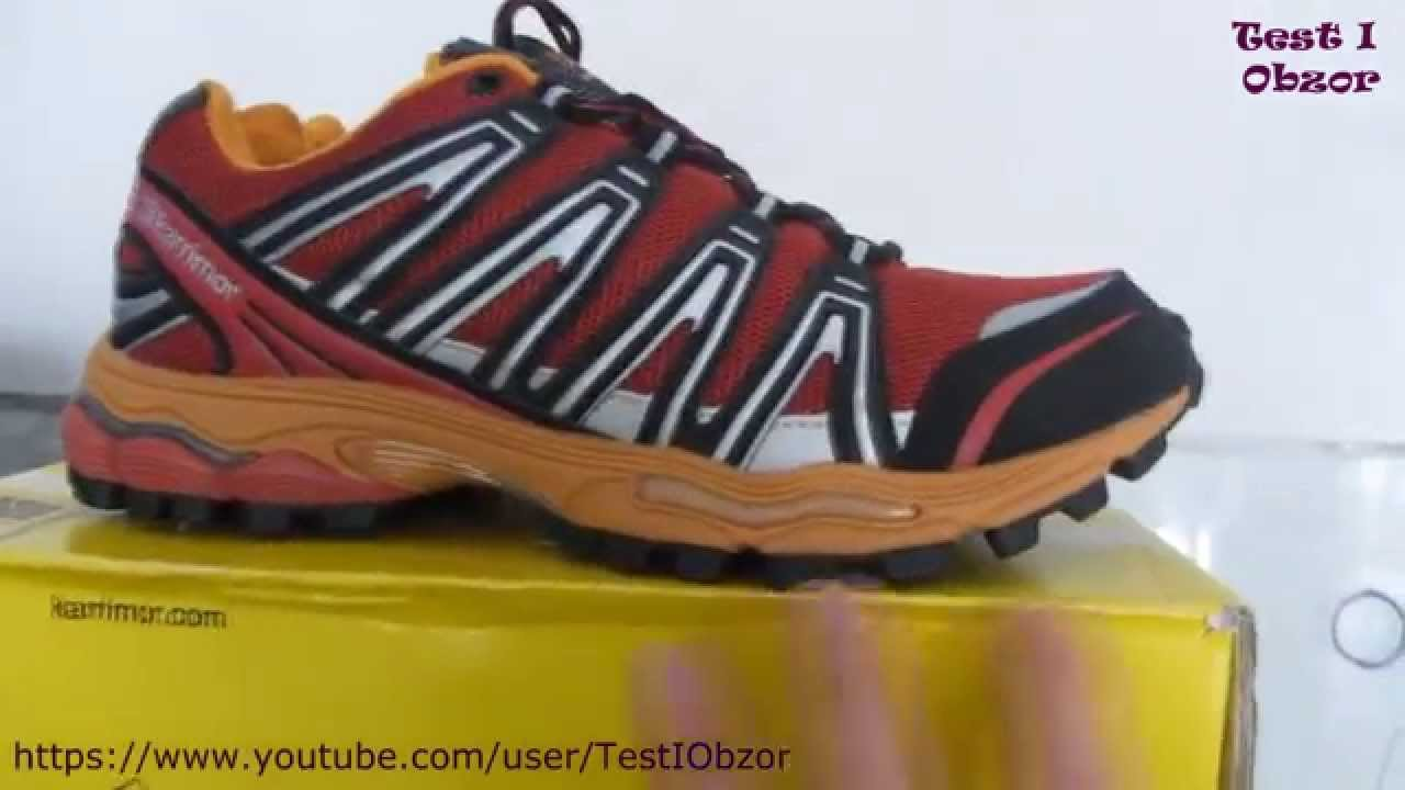 6fe401ec50a Karrimor Tempo Mens Trail Running Shoes - YouTube