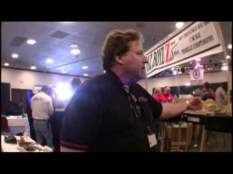Z Scale Model Train  Convention Interview Baz and Zocal Micro trains Micro-trains