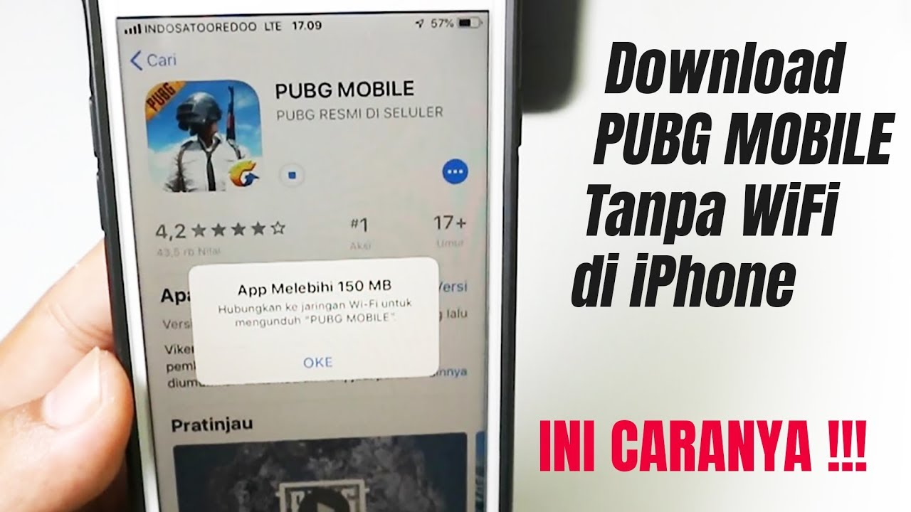 Cara Download Game Pubg Mobile Tanpa Wifi di iPhone