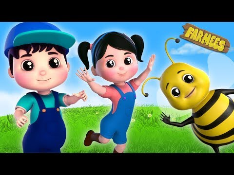 Shoo Fly Don't Bother Me | Nursery Rhymes by Farmees