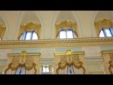 Saint Petersburg , Strelna.The Constantine Palace , the National congress Palace.