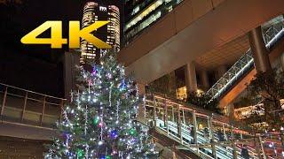 Ark Hills Christmas Lights 2019 アークヒルズクリスマスイルミネーション (SONY RX0 II/RX0II/RX0M2) 4K UHD - TOKYO TRIP