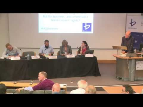 UCL / Bindmans LLP Annual Debate 2015 | The TTIP: A modern Magna Carta for business?