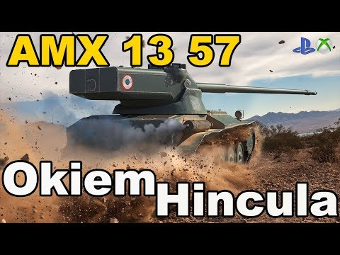 Amx 13 57 Okiem Hincula World of Tanks Xbox One/Ps4