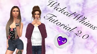The Sims 4 | WICKEDWHIMS TUTORIAL 2.0