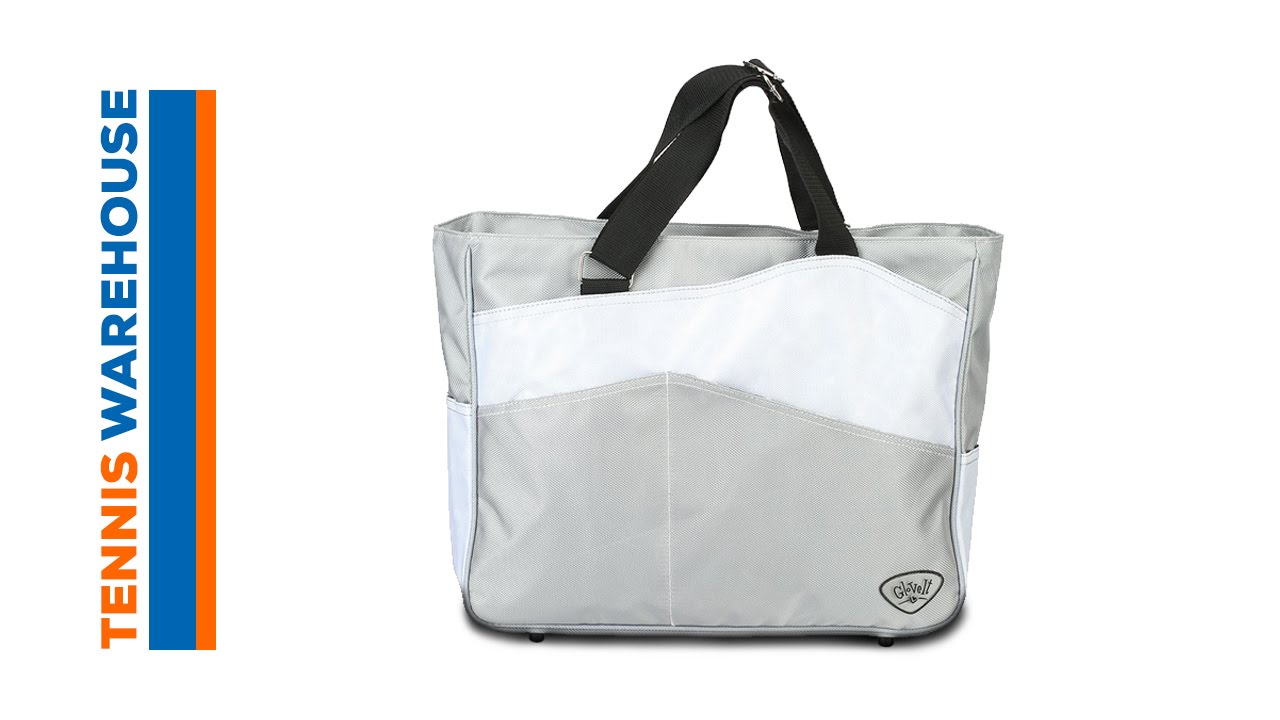 5641870a8e Glove It Large Tennis Tote Bag - YouTube