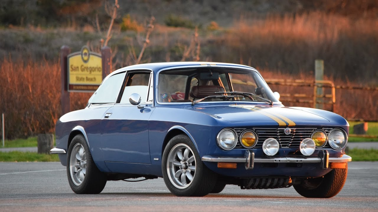 Short Drive 1974 Alfa Romeo 2000 Gtv Youtube