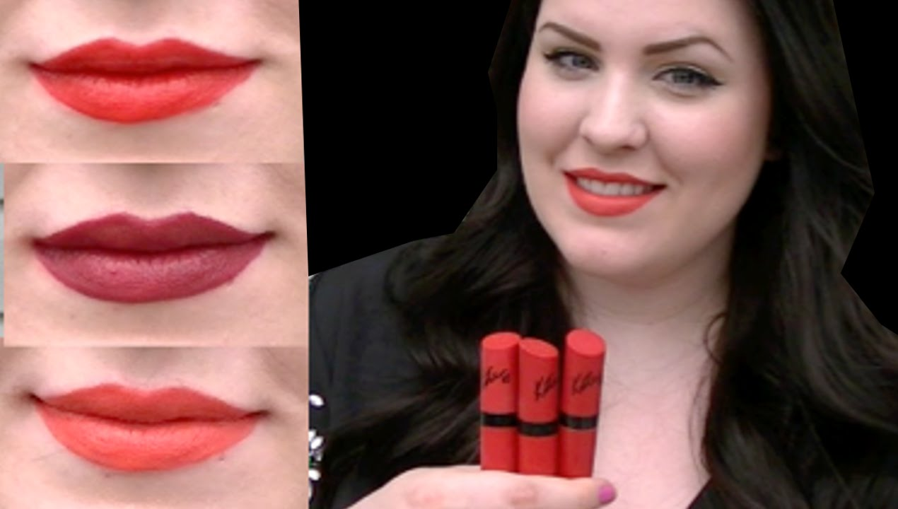 REVIEW: RIMMEL KATE MATTE LIPSTICK - SWATCHES + MAC DUPES