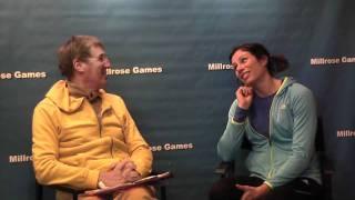 2012 Millrose Games Jen Suhr Interview