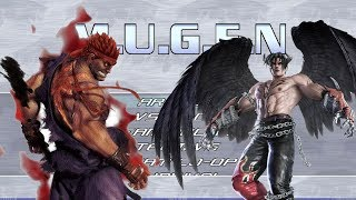 MUGEN: Evil Ryu vs Devil Jin