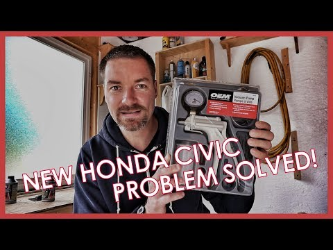 2017 HONDA CIVIC PROBLEM SOLVED!