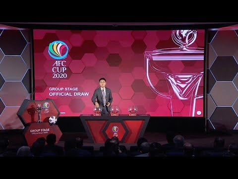 #AFCCup2020 Group Stage Draw (Video News)