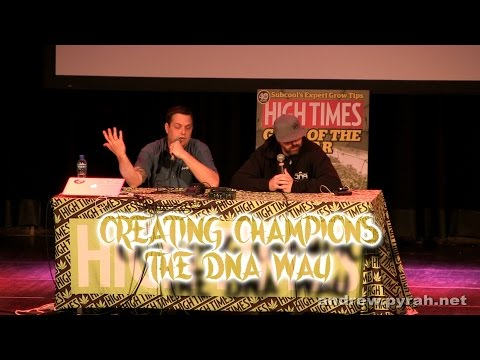 Creating Champions the DNA Way with Don & Aaron PART TWO Amsterdam Cannabis Cup Seminar 2014