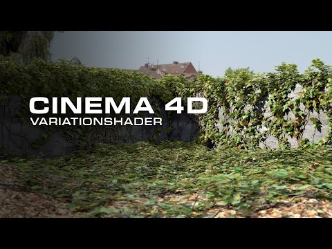 Cinema 4Ds Variation Shader: using multiple textures (R18 and above)