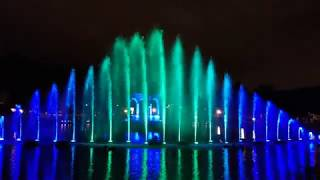 music fountains #2 during Wandering Lights festival in Kadriorg 2018