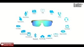SeeU K2 Pro Smart WiFi Bluetooth Camera Glasses  -  Gearbest.com